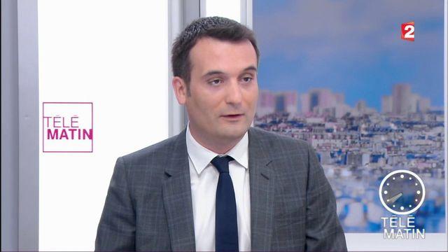 """VIDEO. Florian Philippot dénonce """"un exercice de communication"""" dans l'annonce reportée du gouvernement"""