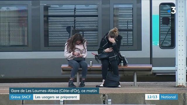 Grève SNCF : les usagers se préparent