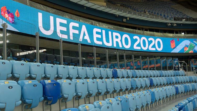 L'Euro 2020 se déroulera du 11 juin au 11 juillet 2021 (OLGA MALTSEVA / AFP)