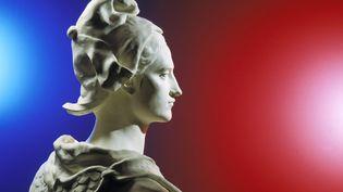 Buste de Marianne par le sculpteurJean-Antoine Injalbert.   (STUDIO PONS / PHOTONONSTOP)