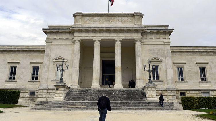 Lepalais de justice de Saintes(Charente-Maritime). (ALEXANDRE MARCHI / MAXPPP)