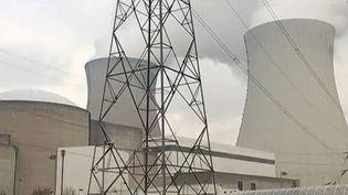 Capture d'écran d'une centrale nucléaire en Belgique (FRANCE 2)
