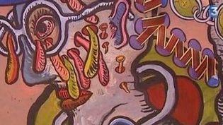 Odon tisse sa toile pour l'éternité  (Culturebox)