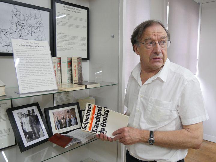 """Yves Hamant est l'un des premiers à avoir eu """"L'Archipel du Goulag"""" entre les mains  (Laurence Houot / Culturebox)"""
