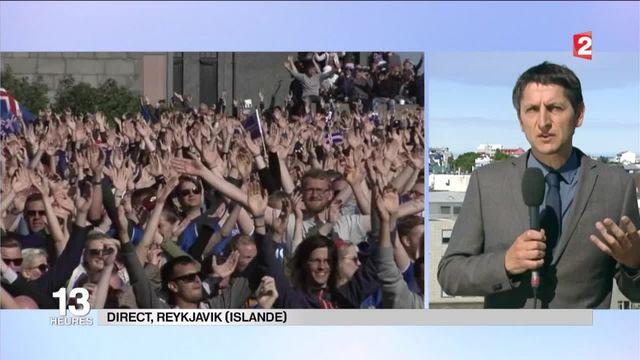 Euro 2016 : les joueurs islandais accueillis comme des héros