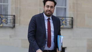 Mounir Mahjoubi, le 9 janvier 2019, à Paris. (FRANCOIS GUILLOT / AFP)