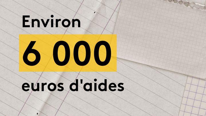 La coiffeuse a reçu environ 6 000 euros d'aides diverses, dont 3 500 euros du fonds de solidarité. (JESSICA KOMGUEN / FRANCEINFO)