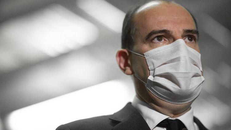Le Premier ministre, Jean Castex, le 4 juin 2021 à Paris. (ELIOT BLONDET / AFP)