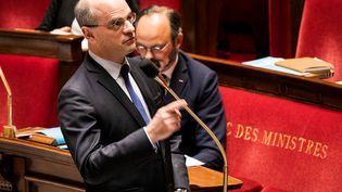 Jean-Michel Blanquer, le 5 mai 2020. (ROMAIN GAILLARD / POOL)