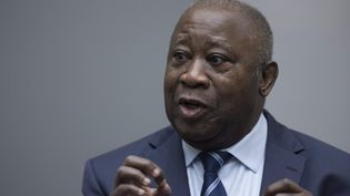 L'ancien président ivoirien Laurent Gbagbo à La Haye, le 15 janvier 2019. (PETER DEJONG / ANP)