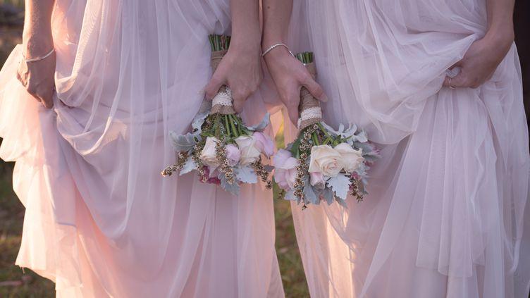 La possibilité d'unir des couples gays ou lesbiens a été adoptée lors du synode national de l'Eglise protestante unie de France àSète(Hérault) en mai 2015 (photo d'illustration). (ESTHER VISSER / EYEEM / GETTY IMAGES)