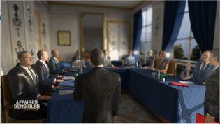 """""""Affaires sensibles"""". Présidentielle 1995 : quand le Conseil constitutionnel valide avec """"imagination et habileté"""" les comptes de campagne irréguliers de Jacques Chirac (CAPTURE D'ÉCRAN """"AFFAIRES SENSIBLES"""" / FRANCE 2)"""