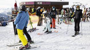 La station de ski de Verbier en Suisse, le 16 décembre 2020. (ALEXIS SCIARD / MAXPPP)