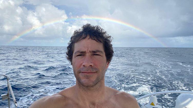 Clément Giraud espère atteindre son but des 100 jours en mer sur le Vendée Globe (Clément Giraud / Compagnie du Lit - Jiliti)