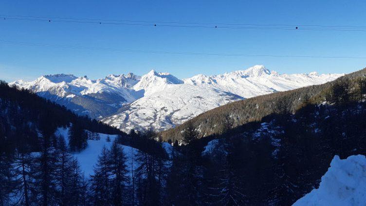 La station de ski de La Plagne en Savoie. (CHRISTOPHE VAN VEEN / FRANCE-BLEU PAYS DE SAVOIE)