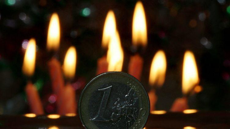 L'euro, la monnaie unique européenne, fêtera ses dix ans d'existence le 1er janvier 2012. (PATRICK GUYOT / MAXPPP)