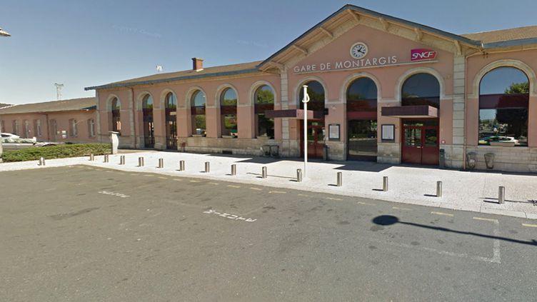 La gare de Montargis (Loiret). (CAPTURE D'ÉCRAN GOOGLE MAP)