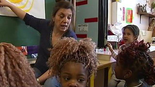 L'apprentissage du français : la priorité d'une école maternelle de Creil