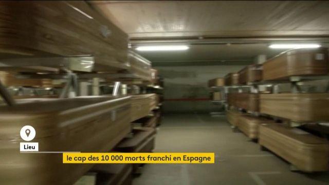 Coronavirus : l'Espagne franchit le cap des 10 000 morts