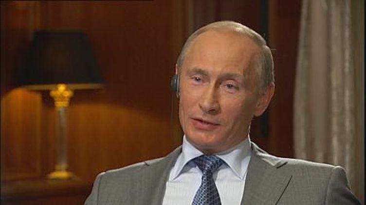 """Vladimir Poutine, le premier ministre russe, devait recevoir cette année le prix Quadriga pour """"esprits éclairés"""" (France 2)"""