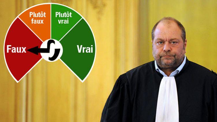 (Eric Dupond-Moretti affirme que la France est le deuxième pays le plus condamné par la CEDH © Maxppp)
