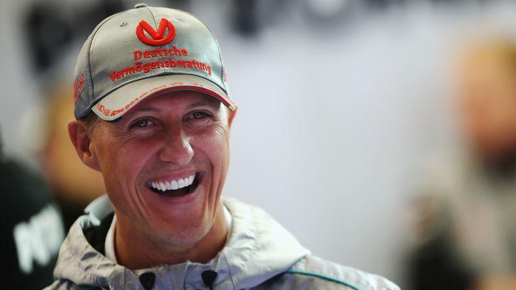 Michael Schumacher avant le Grand Prix belge en août 2012 (MARK THOMPSON / GETTY IMAGES EUROPE)