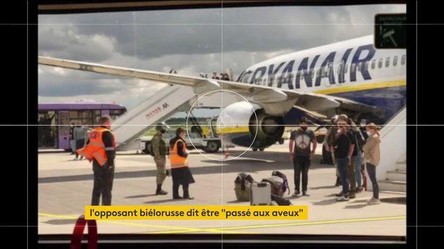 Avion dérouté par la Biélorussie : l'opposant Roman Protassevitch prend la parole
