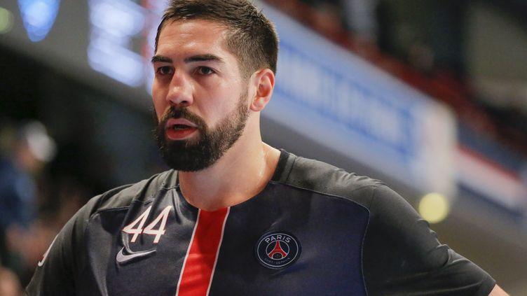 Nikola Karabatic réalise un superbe début de saison 2015-16 sous ses nouvelles couleurs parisiennes (STEPHANE ALLAMAN / STEPHANE ALLAMAN)