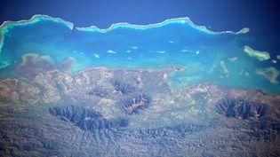 La Grande Barrière de Corail prise par Thomas Pesquet : un témoin du réchauffement climatique (ESA/NASA)