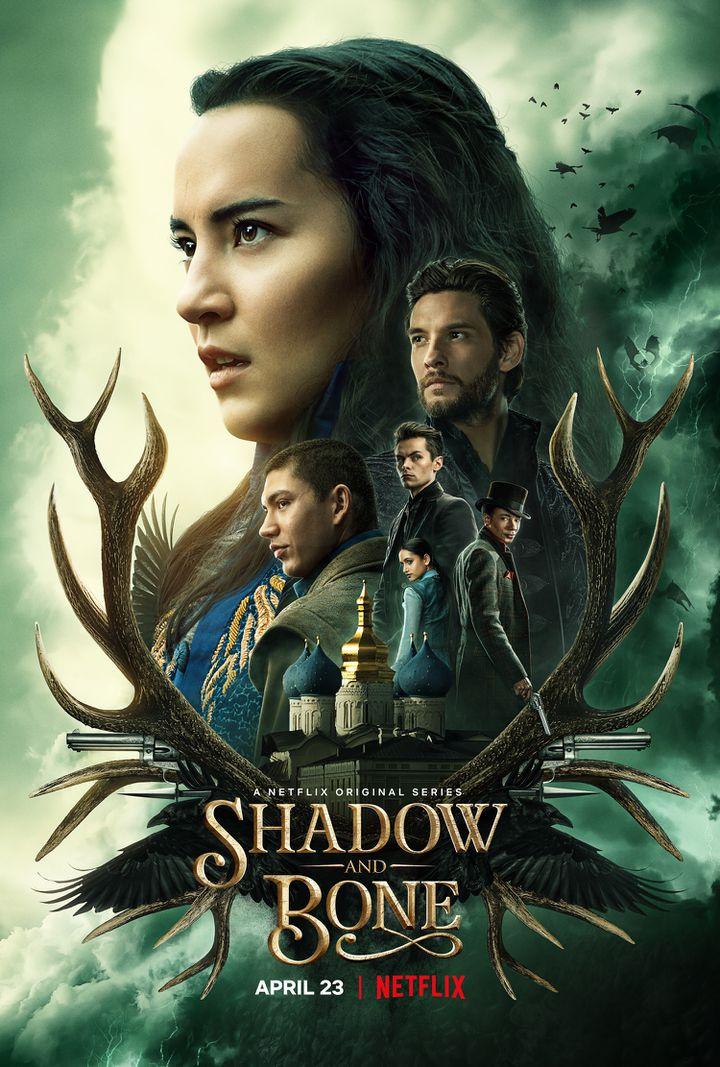"""L'affiche de la série """"Shadow and Bone"""". (NETFLIX)"""