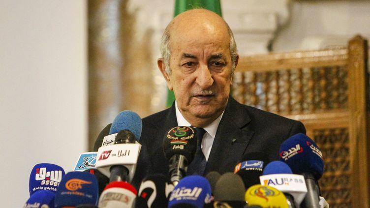 Abdelmadjid Tebboune, le 9 novembre 2019, à Alger. (AFP)