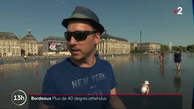Bordeaux : plus de 40 degrés attendus
