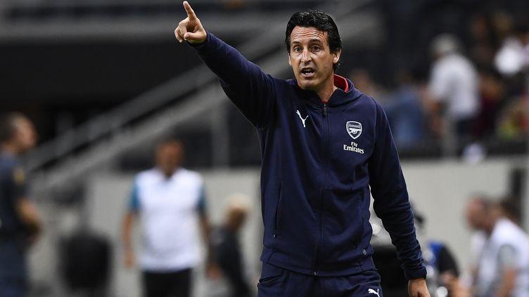Unai Emery (Arsenal) (JONATHAN NACKSTRAND / AFP)