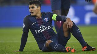 Thiago Silva, plus salaire de la Ligue 1 (FRANCK FIFE / AFP)