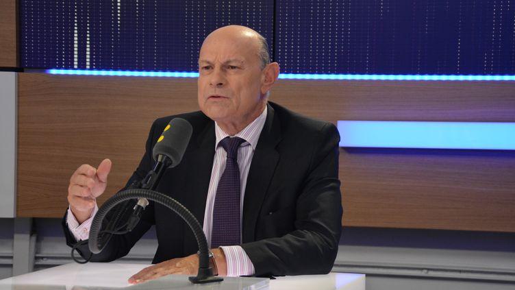 Jean-Marie Le Guen, secrétaire d'Etat chargé des relations avec le Parlement. (Jean-Christophe Bourdillat / Radio France)