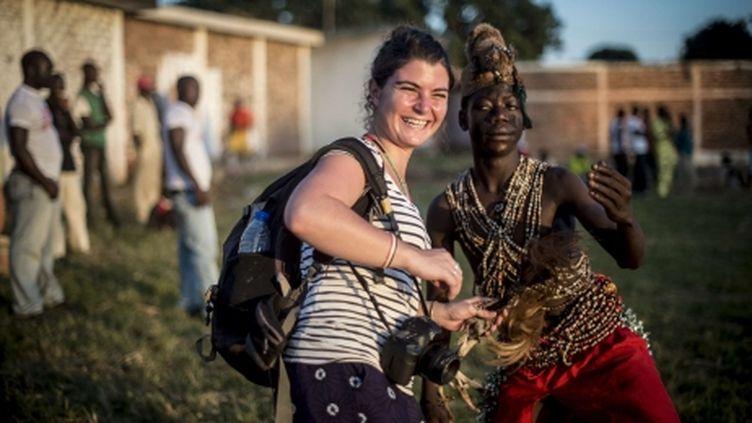 (La photojournaliste Camille Lepage assassinée en Centrafrique © SIPA/ Sylvain Cherkaoui)