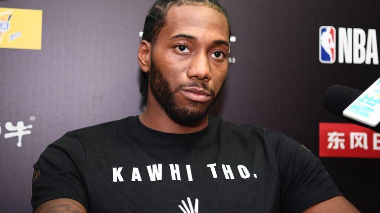 Après le feuilleton LeBron James, celui de Kawhi Leonard a pris fin.  (GU YAN / IMAGINECHINA)