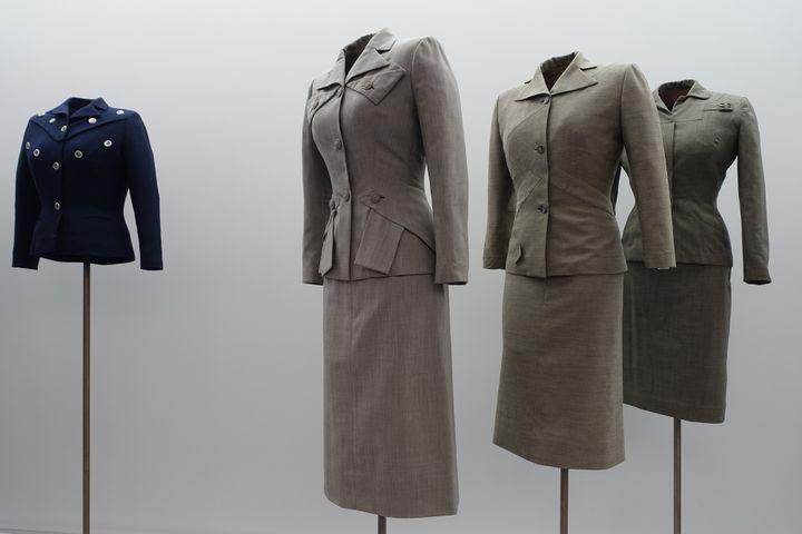 """Exposition """"Adrian et Alaïa. L'art du tailleur"""", à Paris, en janvier 2019 : Adrian, les années couture 1942-1952  (Corinne Jeammet)"""