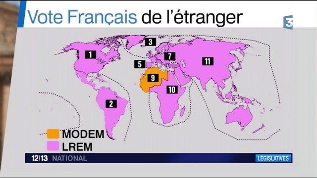 Législatives : premiers votes des Français à l'étranger