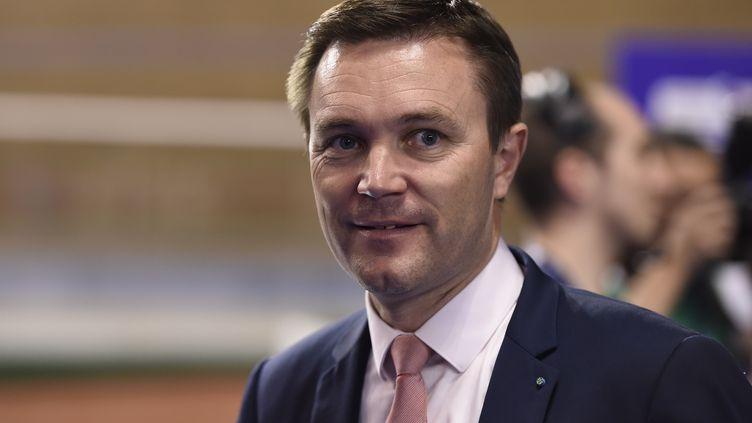 David Lappartient, le président de l'UCI (NICOLAS TUCAT / AFP)