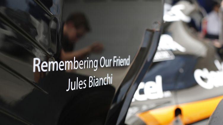 Les pilotes rendront un dernier hommage à Jules Bianchi, décédé la semaine dernière.  (FRANCOIS FLAMAND / DPPI MEDIA)
