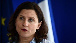 La ministre des Sports, Roxana Maracineanu, le 9 mars 2020 à Paris. (MARTIN BUREAU / AFP)