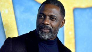 """Idris Elba lors de la première mondiale du film """"Cats"""", dont il fait partie du casting, le 16 décembre 2019 à New York (Etats-Unis). (ANTHONY BEHAR/SIPA USA/SIPA / SIPA USA)"""