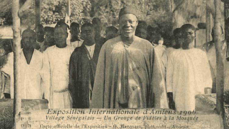 """En 1906, un """"village sénégalais"""", installé sur l'emplacement du futur zoo d'Amiens  (France 3/Culturebox / capture d'écran)"""