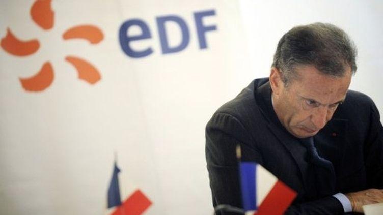 Henri Proglio, PDG de l'électricien français (JEFF PACHOUD / AFP)