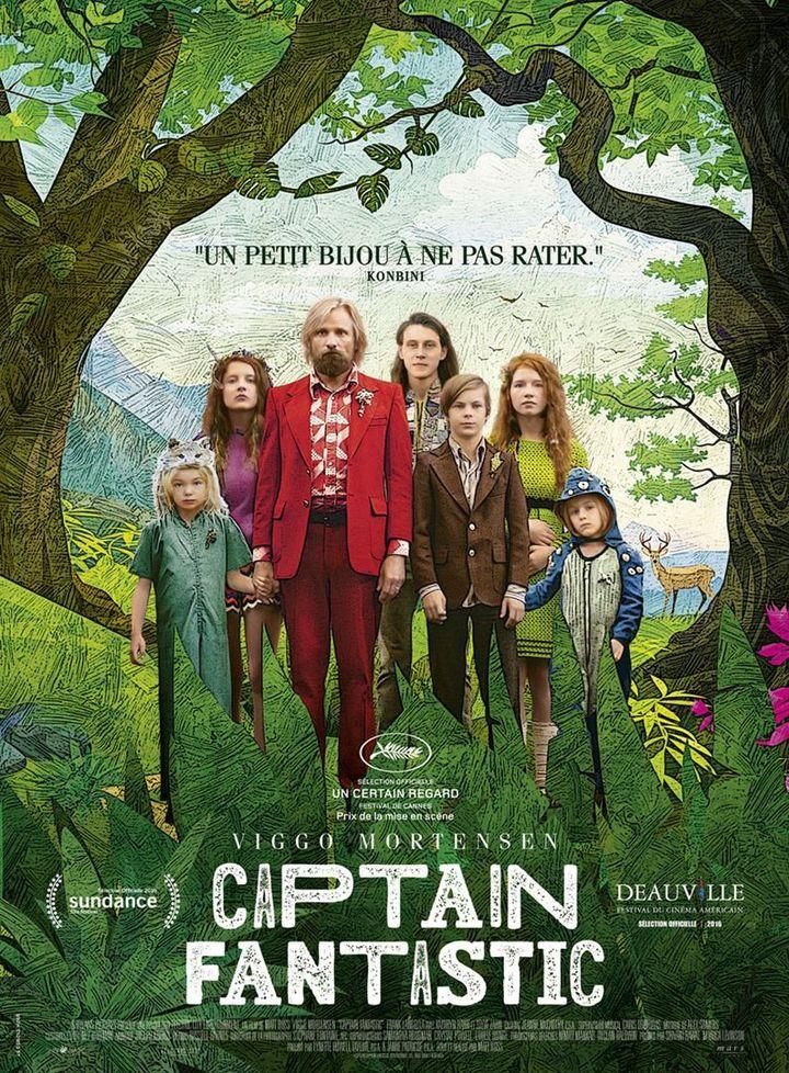 """""""Captain Fantastic"""" : l'affiche française  (Mars Films)"""
