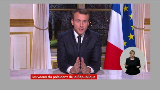 Emmanuel Macron réclame le soutien des citoyens européens