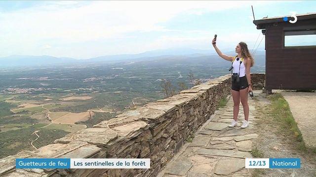 Pyrénées-Orientales : des guetteurs surveillent l'horizon et les départs de feu