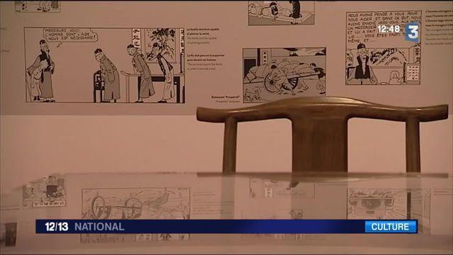 Exposition : Tintin au Grand Palais