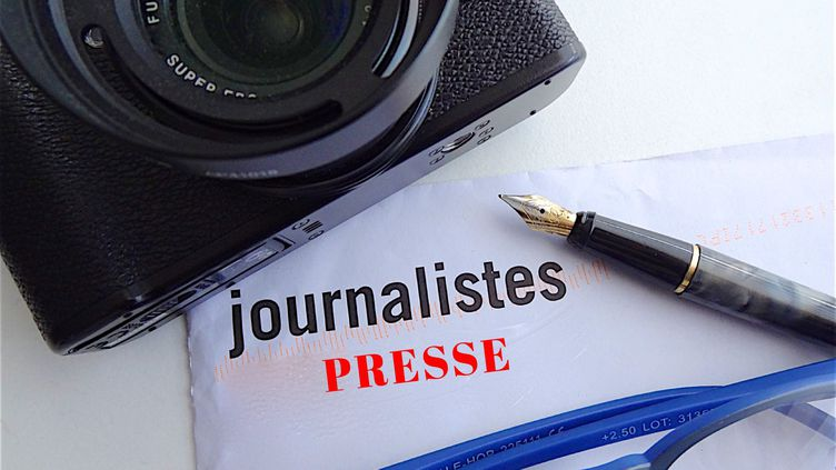 Journalisme - Photo d'illustration. (PATRICK LEFEVRE / MAXPPP)